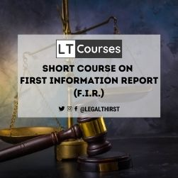 Short Course on First Information Report (F.I.R.)